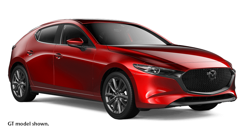6-SPEED AUTOMATIC TRANSMISSION 2021 MAZDA3 Sport GX